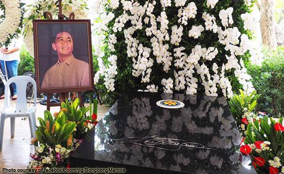 Marcos LNMB burial