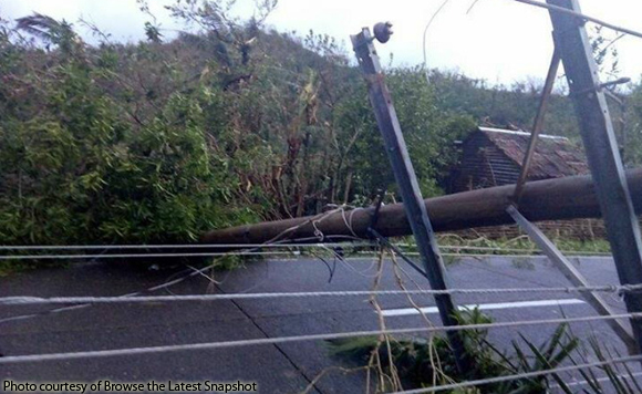 Catanduanes homes still without power