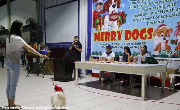Christmas City Vet.Merry Dogs Naga City Holds Christmas Dog Show