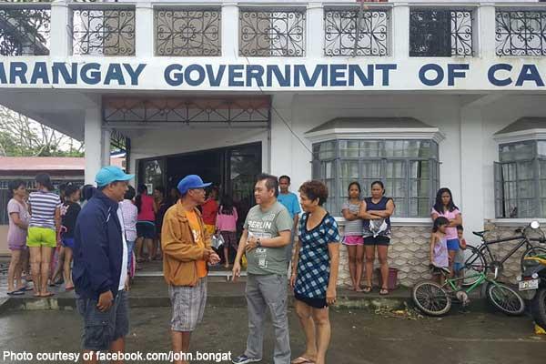 Naga City Mayor CLUPA Brgy Calauag