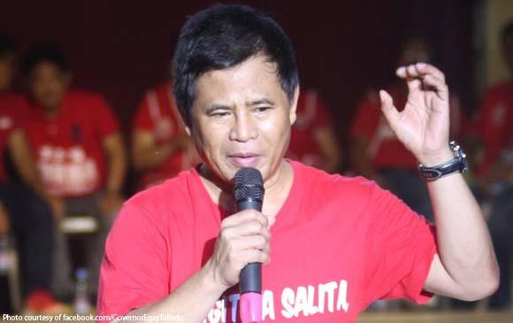 Camarines Norte Gov  Edgardo Tallado says he's still a
