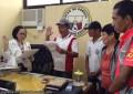 Friday the 13th was a packed day for Donsol, Sorsogon Mayor Jo Alcantara Cruz